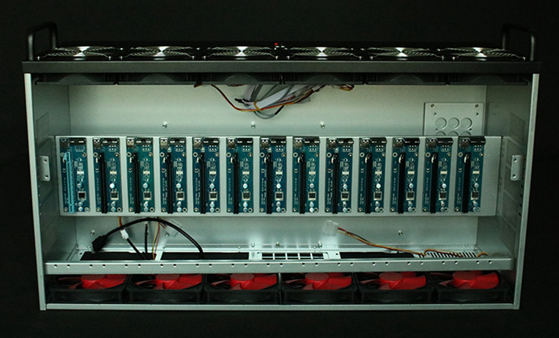Crypto Coin Open Air Frame mining rig graphics case USB miner PC Server Rack ETH BTC XMR rx 470 480 570 580 gtx 1080 1070 card