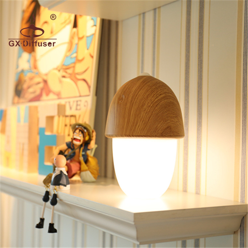 GX.Diffuser USB Rechargeable LED Touch Night Light Desk Lamp Battery Powered Porch Transformers Dimmable Portable Table Lamp цена