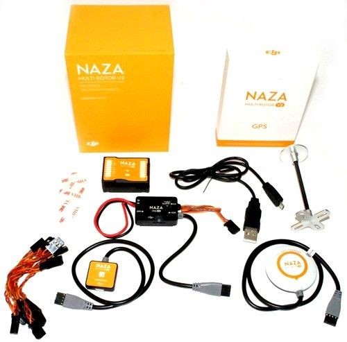 DJI NAZA-M NAZA V2 Multirotpr Flight Controller + GPS V2 + PMU + LED Full Combo Set original naza gps for naza m v2 flight controller with antenna stand holder free shipping