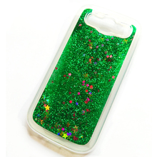 For Samsung Galaxy S3 Case Bling Quicksand Water Soft Case Cover For Samsung Galaxy S3 neo i9301 Liquid Case Coque Capa Fundas