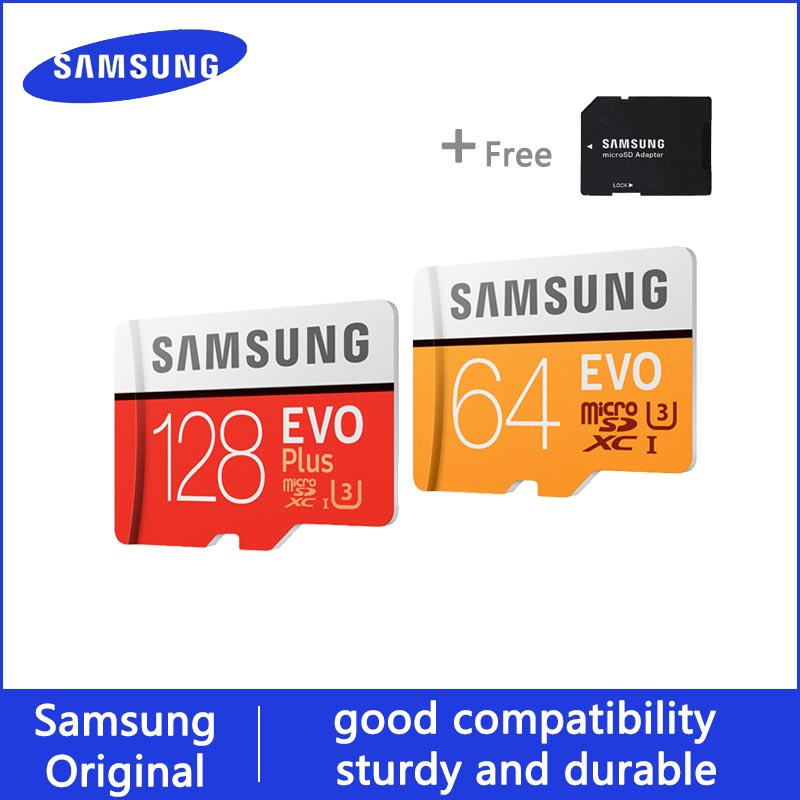 SAMSUNG Microsd Card 512GB 256G 128GB 64GB 32GB 16GB 100Mb/s Class10 U3 U1 Micro SD Card Memory Card TF Flash Card