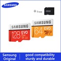 Samsung tarjeta microSD 256G 128 GB 64 GB 32 GB 16 GB 8 GB 100 MB/S Class10 U3 U1 micro SD tarjeta de memoria flash TF