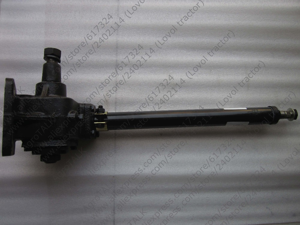 Jinma JM184-JM254 tractor, the steering unit assembly, the four connecting bolts type, Part number: 184.40.001-1