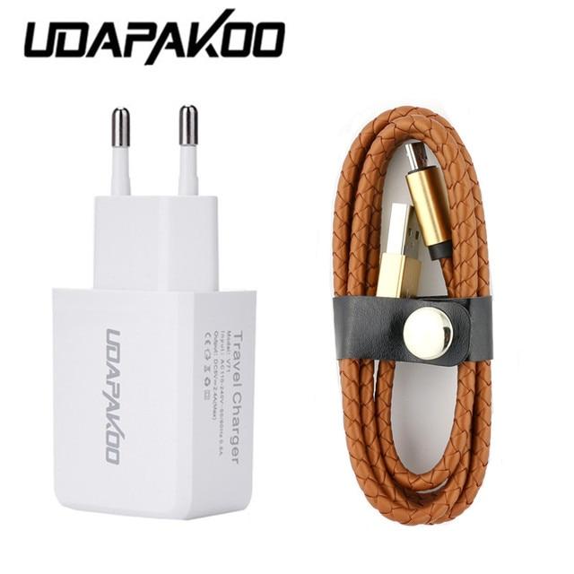 leather braid Micro usb wire cable for Samsung/htc/Xiaomi redmi 3s ...