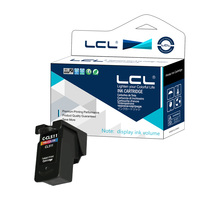 LCL CL511 (1 Pack Tri Color) Display Ink Volume Ink Cartridge Compatible for Canon Pixma iP2700 Pixma MP240 Pixma MP250