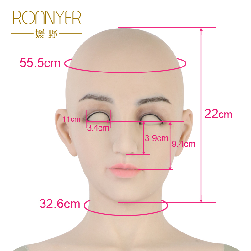 Roanyer crossdresser silicone whole body suits fake breast forms with penetrable vagina transgender False Boobs shemale Dragquee