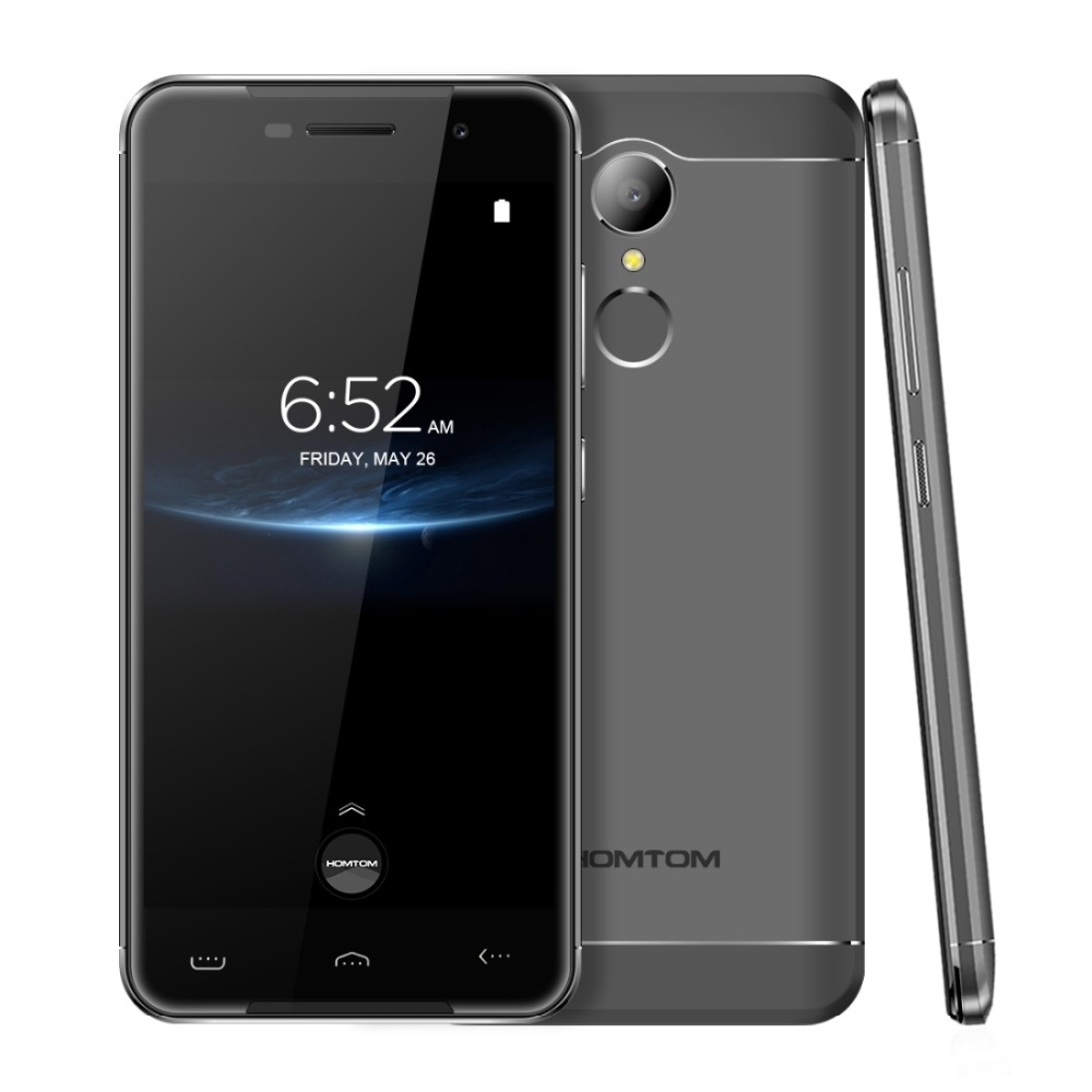 Homtom HT37 Pro 4G LTE Smartphone 5.0 inch Android 7.0 MTK6737 Quad Core 1.3GHz 3GB RAM 32GB ROM Dual SIM Phone 8MP Camera OTG