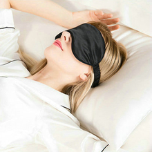 New Natural Pure Silk Sleeping Masks Super Smooth Sleep Rest Eye Mask Pad Shade Cover Travel Relax Aid Blindfolds Free Shipping
