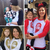 2015 Spring Autumn Matching Family Clothing Outfit Letter Print Long Sleeve T Shirt For Mom And