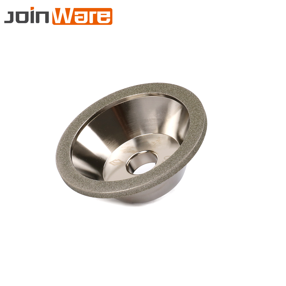 4inch Diamond Grinding Wheel Cup Cutter Grinder 100 - 600# Resin Bond Tool For Tungsten Steel Milling 100x20x10x5mm