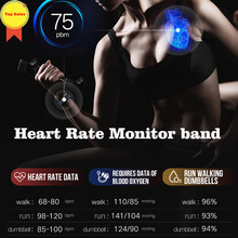Smart Band 2019 Color Touch Screen ip67 Waterproof Blood Pressure Heart Rate Monitor Sports Bracelet Talk Band Mi 2 3 4 for IOS