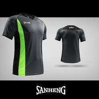 SANHENG Basketball Referee Jerseys Professional Mens Basketball Referee Uniform Custom Referee Judge Jersey Black Shirt 292