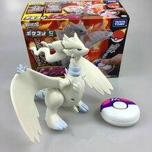 18CM Go Kyurem Figures Pikachu Anime Cartoon Remote Control Toys Action Figure PVC Kids Toys Radio Control Children Gifts