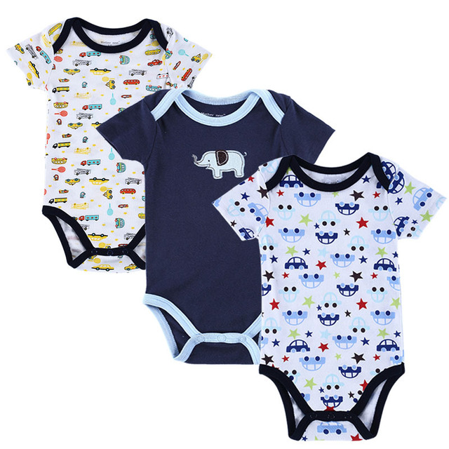 eb024fe59f5a Baby Bodysuits Clothes 100% Cotton Body For Babies Infant Summer ...