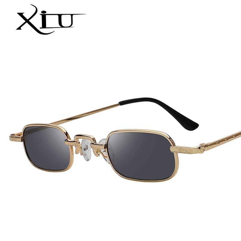 XIU 2018 Óculos de Marca Designer de Óculos De Sol Das Mulheres Dos Homens  Do Vintage c90f25fcd4