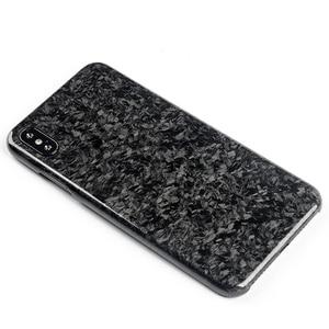 Image 3 - Nouveau étui de téléphone portable en Fiber de carbone Composite forgé pour iPhone XS MAX couverture complète Protection pour étui iPhone X XS XR