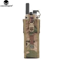 EMERSONGEAR-pochette Radio Multicam noir EM8350, pochette tactique PRC 148/152 pour la chasse, Paintball, équipement de Combat Airsoft
