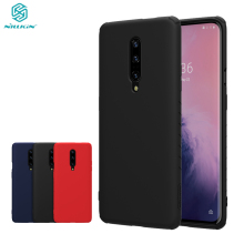 OnePlus 7 Pro case OnePlus 7 Cover NILLKIN Rubberized TPU Case Nontoxic Shockproof Back Cover protector Case For OnePlus7 Pro