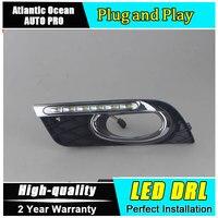 JGRT Car Styling For Honda Civic LED DRL For Civic Led Daytime Running Light High Brightness
