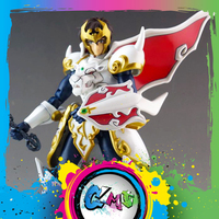 CMT In Stock Dasin model Great Toys Tenkuu Senki Shurato Metal Armor With Objec Action Figure