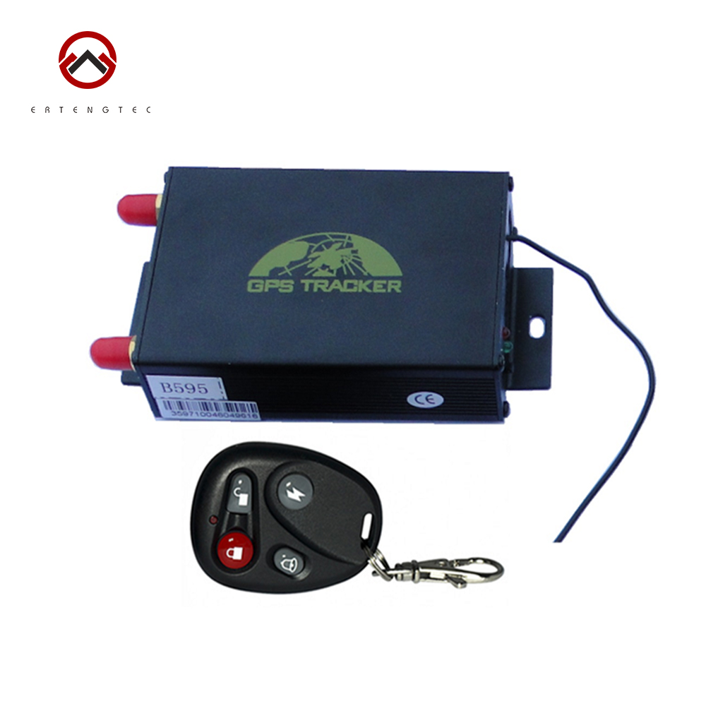Vehicle GPS Tracker TK105B GSM Alarm System Tracking Device Remote Control GPS LBS Double Tracking Over Speed Alarm Cut Off Oil