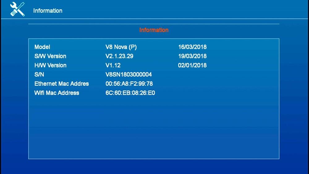 5PCS GTMedia V8 Nova Full HD DVB-S2 Satellite Receiver Same V9 Super Upgrade From V8 Super Decoder Support H.265 Built-in WiFi 21