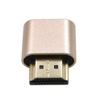 VGA Mining Virtual Display Adapter HDMI 1.4 Ghost Display Emulator Video card Lock plate