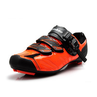 TIEBAO Professional MTB Cycling Shoes Mountain Bike Self locking Shoes Breathable Bycle Shoes