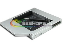 Best for Acer Aspire 5315 5310 5100 5110 Notebook PC 2nd HDD SSD Caddy Second Hard Disk Enclosure DVD CD Optical Drive Bay Case