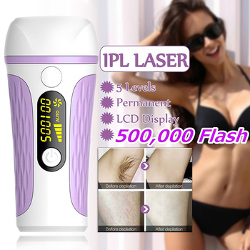 Newly Electric Laser Facial Body Permanent Hair Removal Device for Women at home Effective Hair Removal Tool SK88