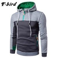 T Bird Hoodie Men 2017 Fashion Stitching Sweatshirt Casual Men S Hoodies Sweatpants Hip Hop Male
