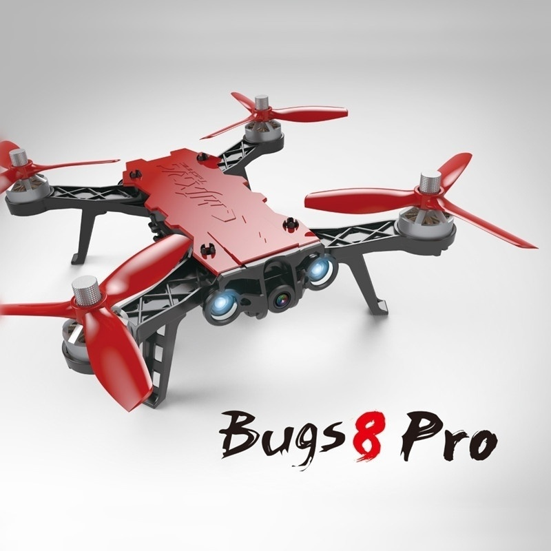 RC Racing Quadcopter MJX Bugs 8 Pro Drone Brushless with 3D Flips 2.4G Remote Control Drone Aircraft Toys for Teenagers цена