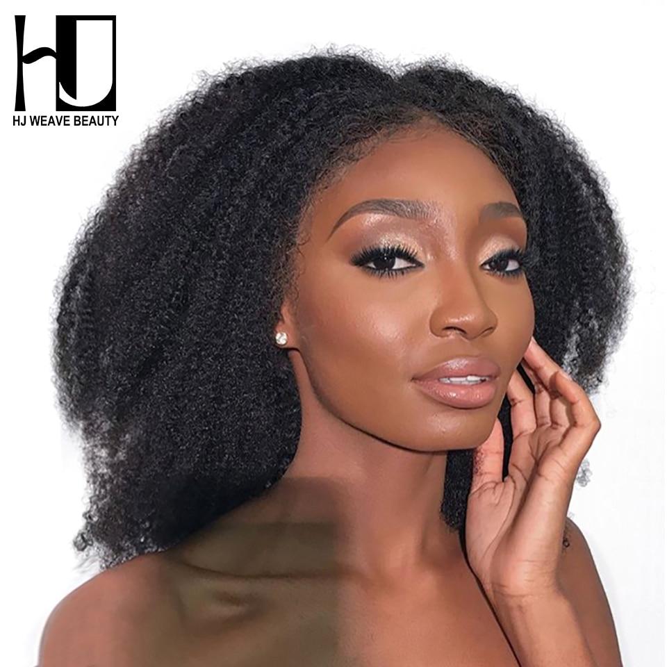 13 × 6 レースフロント人毛かつら変態ストレートブラジルレースフロントかつら黒人女性のための Remy 毛 HJ 織り美容  グループ上の ヘアエクステンション & ウィッグ からの 人毛レースウィッグ の中 1