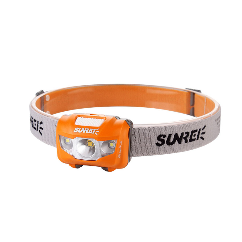 Competent Sunrex Youdo2s Led Headlamp Headlight Ipx6 Waterproof Xpg2 R4 Led + 2x3030 Leds 7 Modes 3 X Aaa Battery Outdoor Hiking Cycling To Enjoy High Reputation In The International Market
