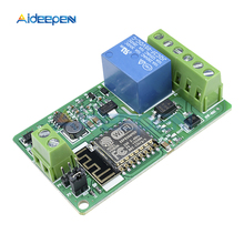 DC 12V ESP8266 ESP-12F Wireless Wifi Module 220V 10A Relay