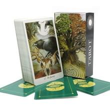 Природа Таро колода таємнича гра тварин ігор Повний Англійська гральних карт настільна гра