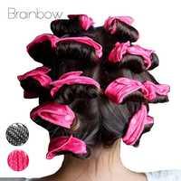 Brainbow 10 PC Magie Schwamm Kissen Weiche Haar Roller Flexible Schaum & Schwamm Lockenwickler Rollen DIY Salon Haar Pflege styling Werkzeuge