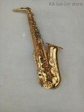 KA luo Lin store alto saxophone LM 800 E flat alto saxophone golden brass font b