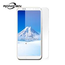 RONICAN ป้องกันสำหรับ Xiaomi Redmi 5 Plus ป้องกันหน้าจอแก้ว 9 H 2.5D โทรศัพท์กระจกนิรภัยสำหรับ Xiaomi Redmi 5 แก้ว