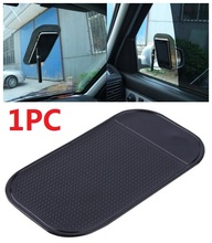 Bling Recommend Free Shipping Car Use Black Anti Slip Mat Silicon Gel Sticky Pad For Phone GPS PDA MP3 MP4
