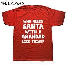 3ce353d58 Mens Gift Idea For Grandads Dad Present Christmas Xmas Grandpas T Shirt  Cotton Casual White Top T-Shirt Summer Novelty Cartoon