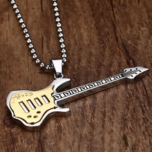 Guitar Necklace Pendant