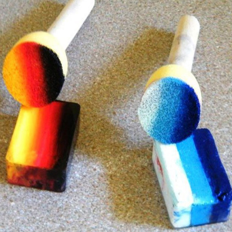 Paint-Brush-Wooden-Handle-Seal-Sponge-Brush-Childrens-Painting-Tool-Graffiti-Kids-DIY-Doodle-Drawing-Toys-4PCS-4