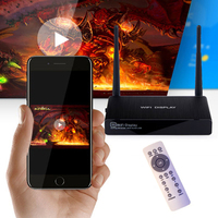 Smart miracast dongle wireless hdmi tv stick adapter wifi display screen mirroring cast android dlna IOS airplay vga+av Jack
