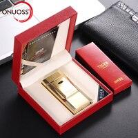 ONUOSS Elektronische Zigarette Fackel Leichter Tiger Logo Einzelnen Pulsed Arc Leichter Winddicht Donner Metall Plasma USB Leichter 900