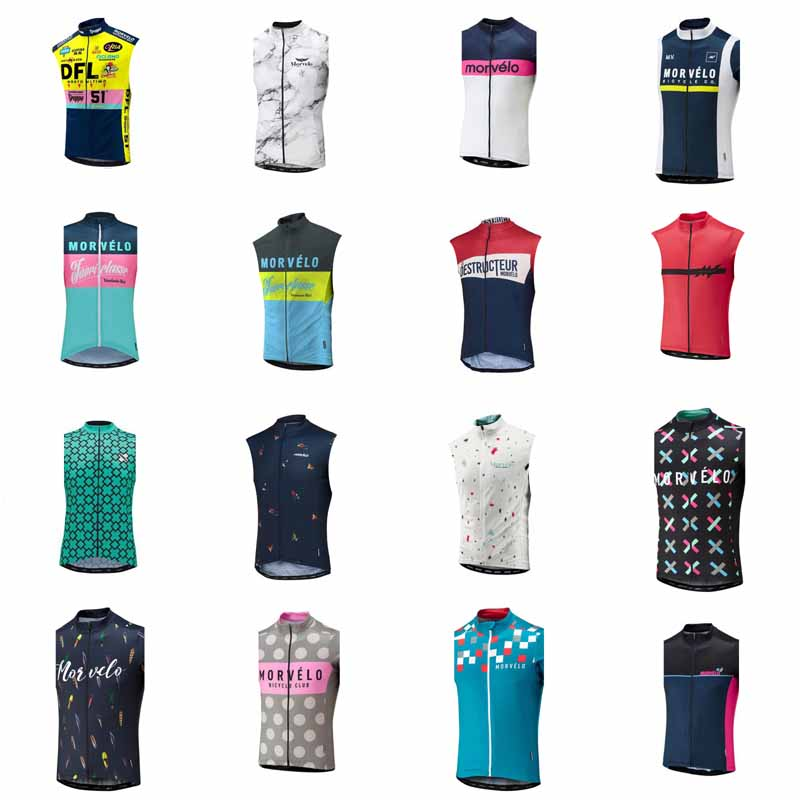 2019 NEW Cycling Sleeveless Jersey  Summer Bicycle Road MTB Bike Shirt Outdoor Sports Ropa Ciclismo Clothing 21804F