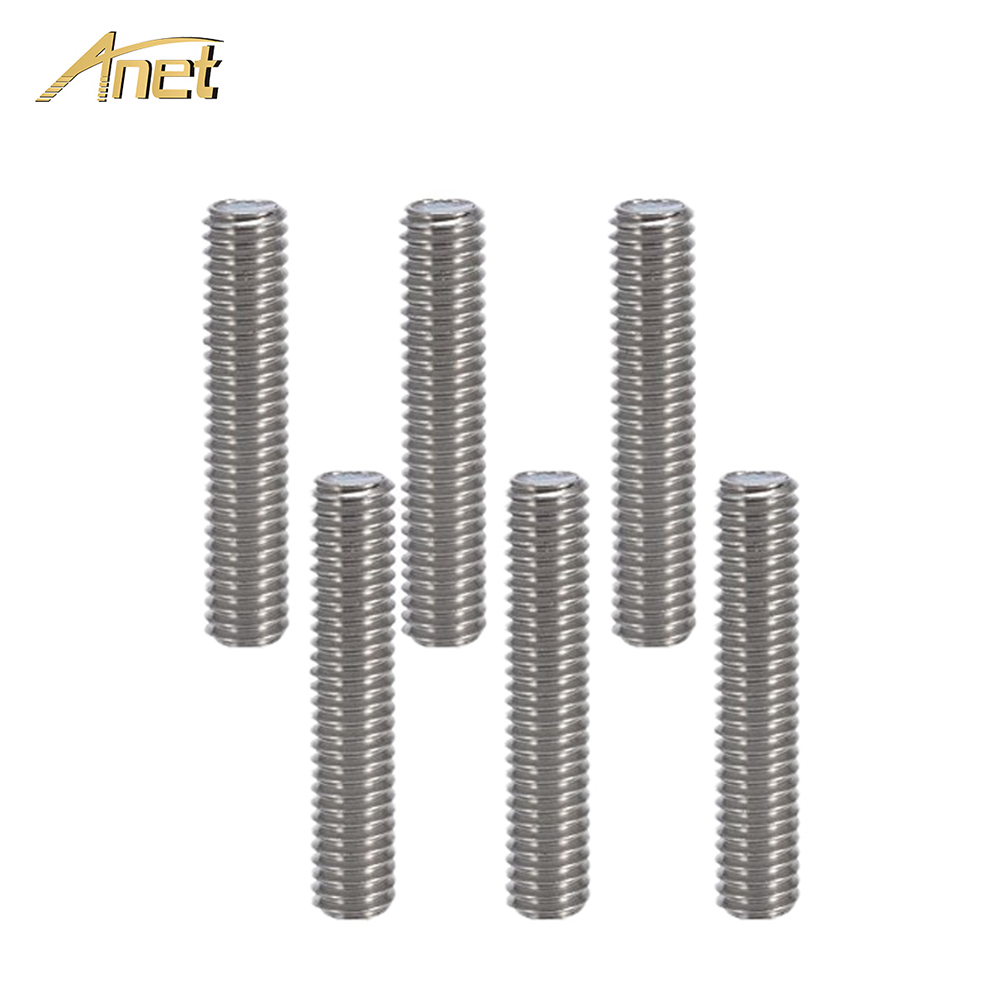M6x30mm Nozzle Throat Stainless Steel Tube For 3D Printer Extruder 1.75mm