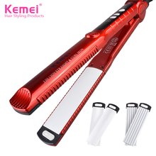 Kemei 3 In 1 Corn Holder of Curling Hair Curlers Hairdressing Apparatus Does Not Hurt Hair KM -1878 Curling Irons