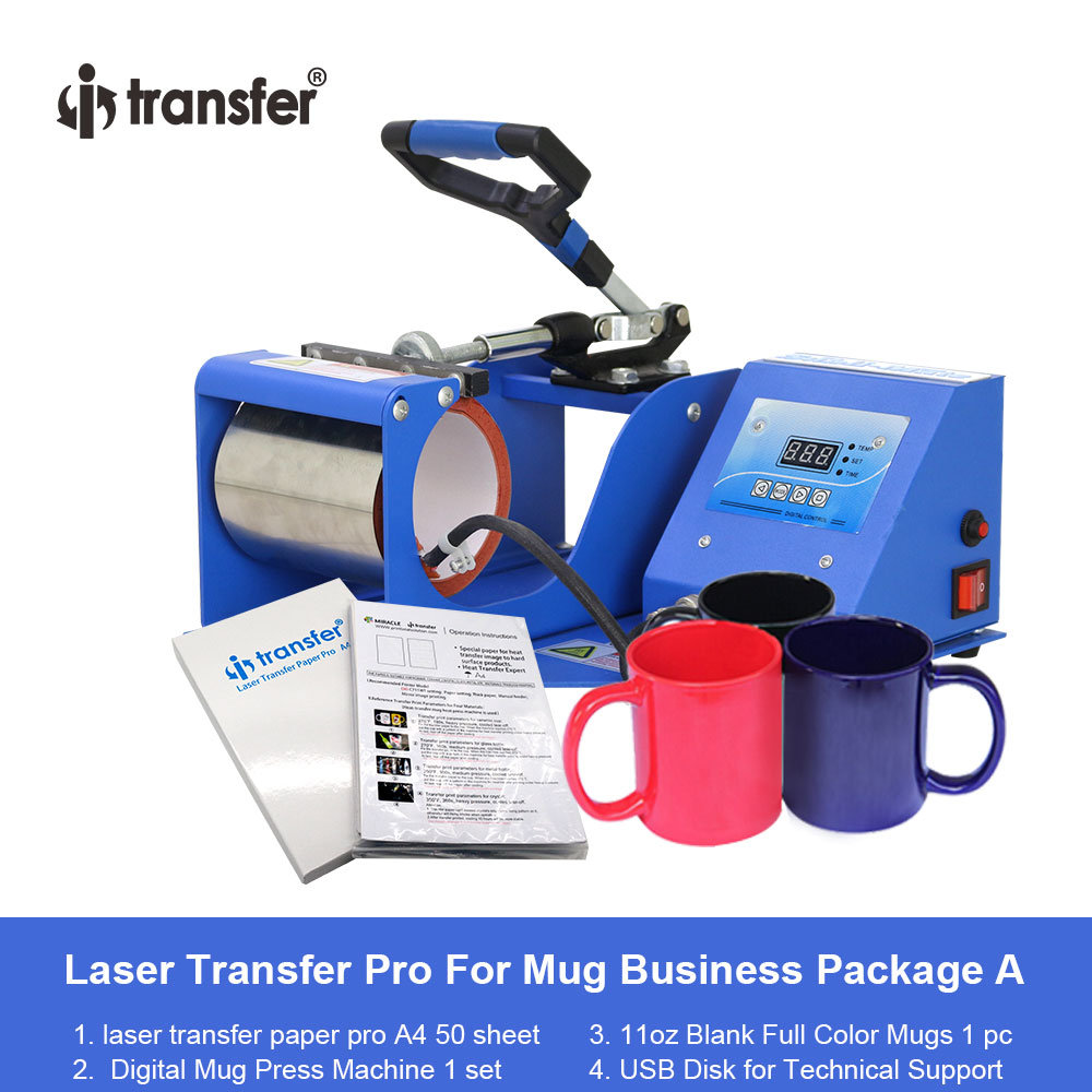 i-transfer 11 OZ Mugs Sublimation Heat Press Machine Printing Package Sale HPM-02Ai-transfer 11 OZ Mugs Sublimation Heat Press Machine Printing Package Sale HPM-02A