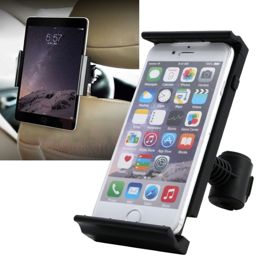 High Quality New 1 Pc Auto Car Headrest Back Seat Mount Holder Cradle For Ipad Samsung Tablet Universal